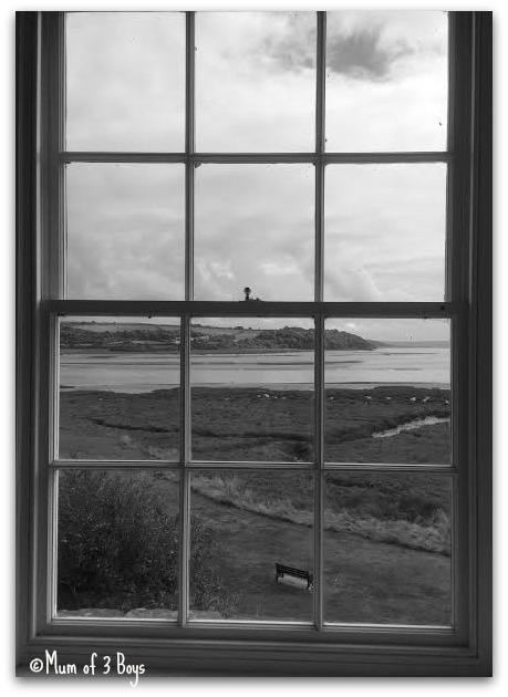 view for the window B&W