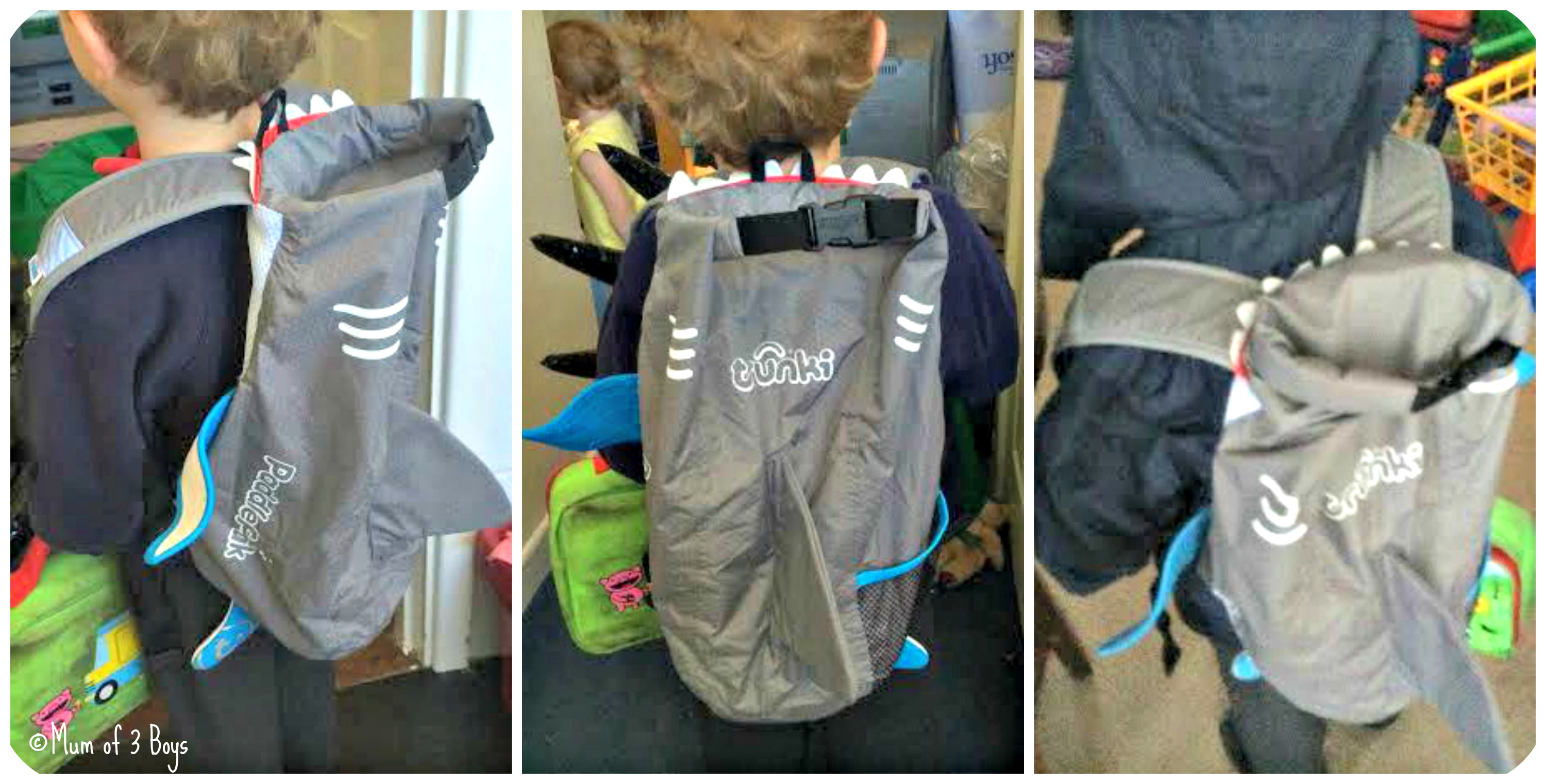 paddlepak school bag