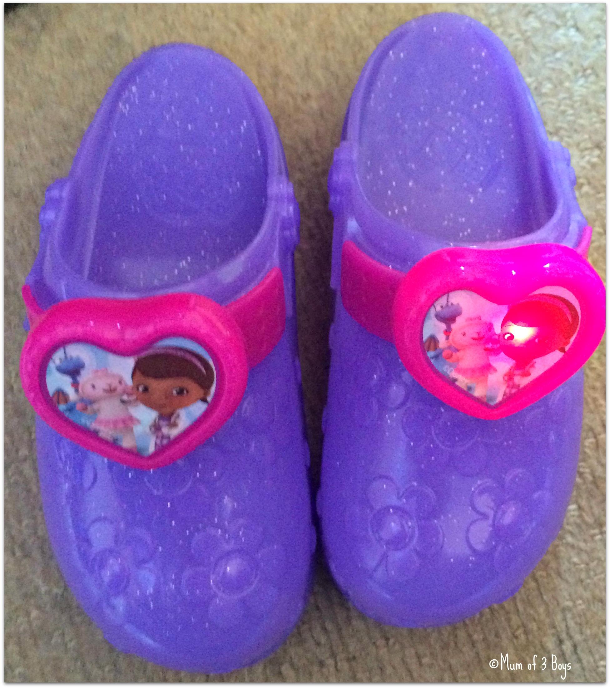 Review – Doc McStuffins Light Up Doctor Shoes – Mum of 3 Boys