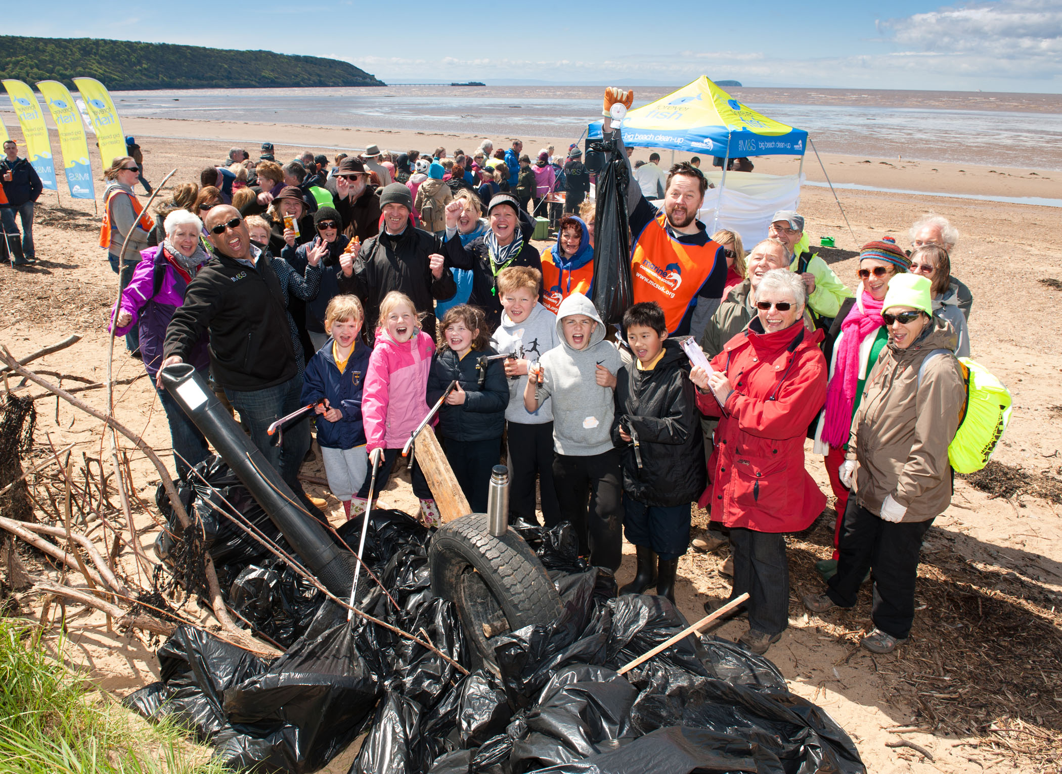 M&S & MCS Sand Big Beach Clean Up 1 - 7-13 May 2015