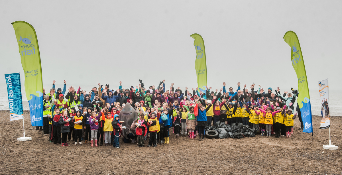 M&S & MCS Sand Big Beach Clean Up 4 - 7-13 May 2015