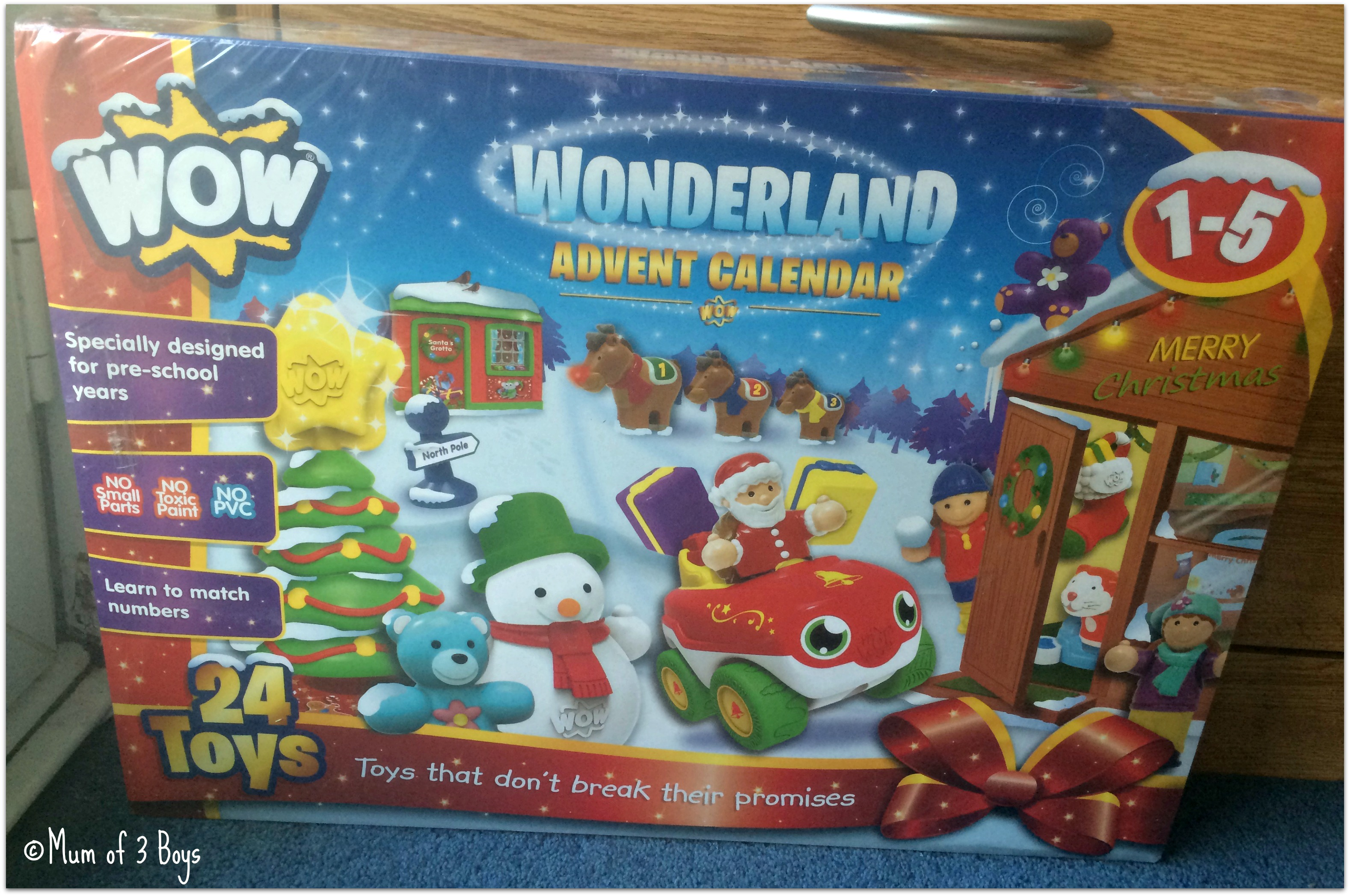 wow wounderland calender