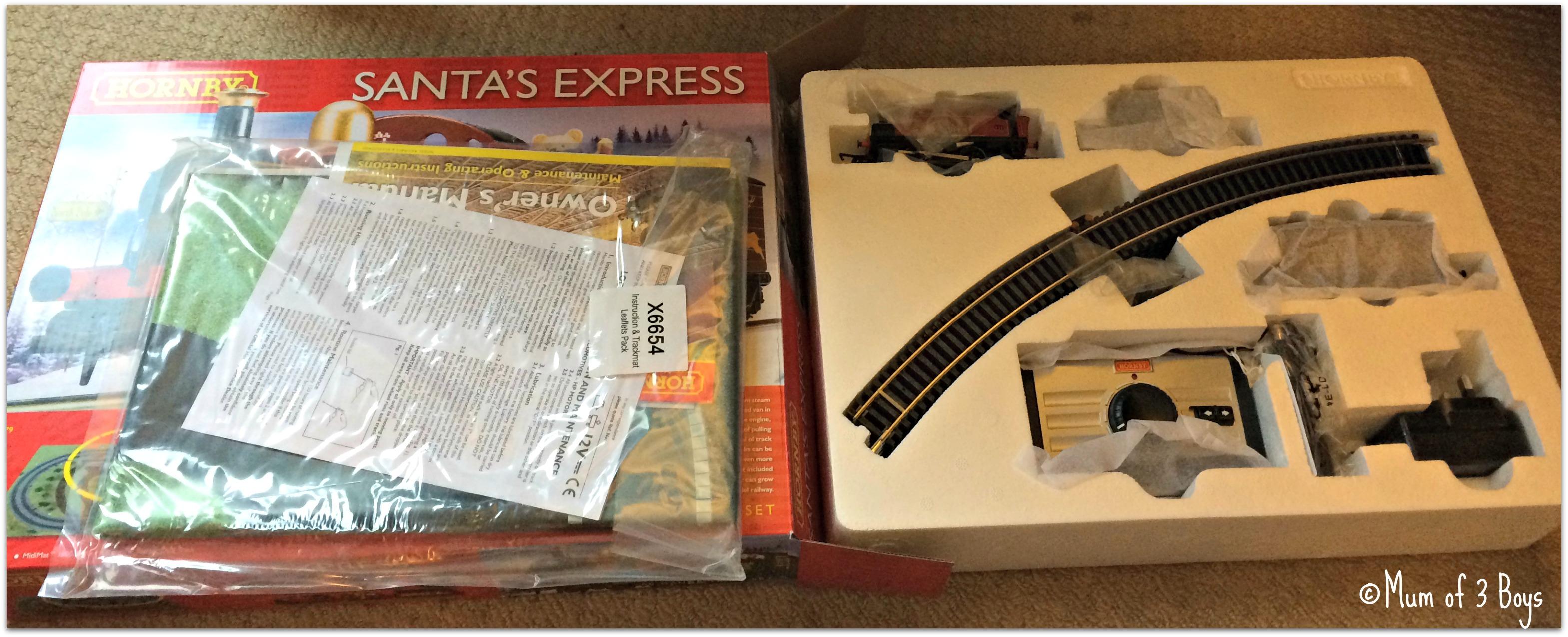 santa express contents