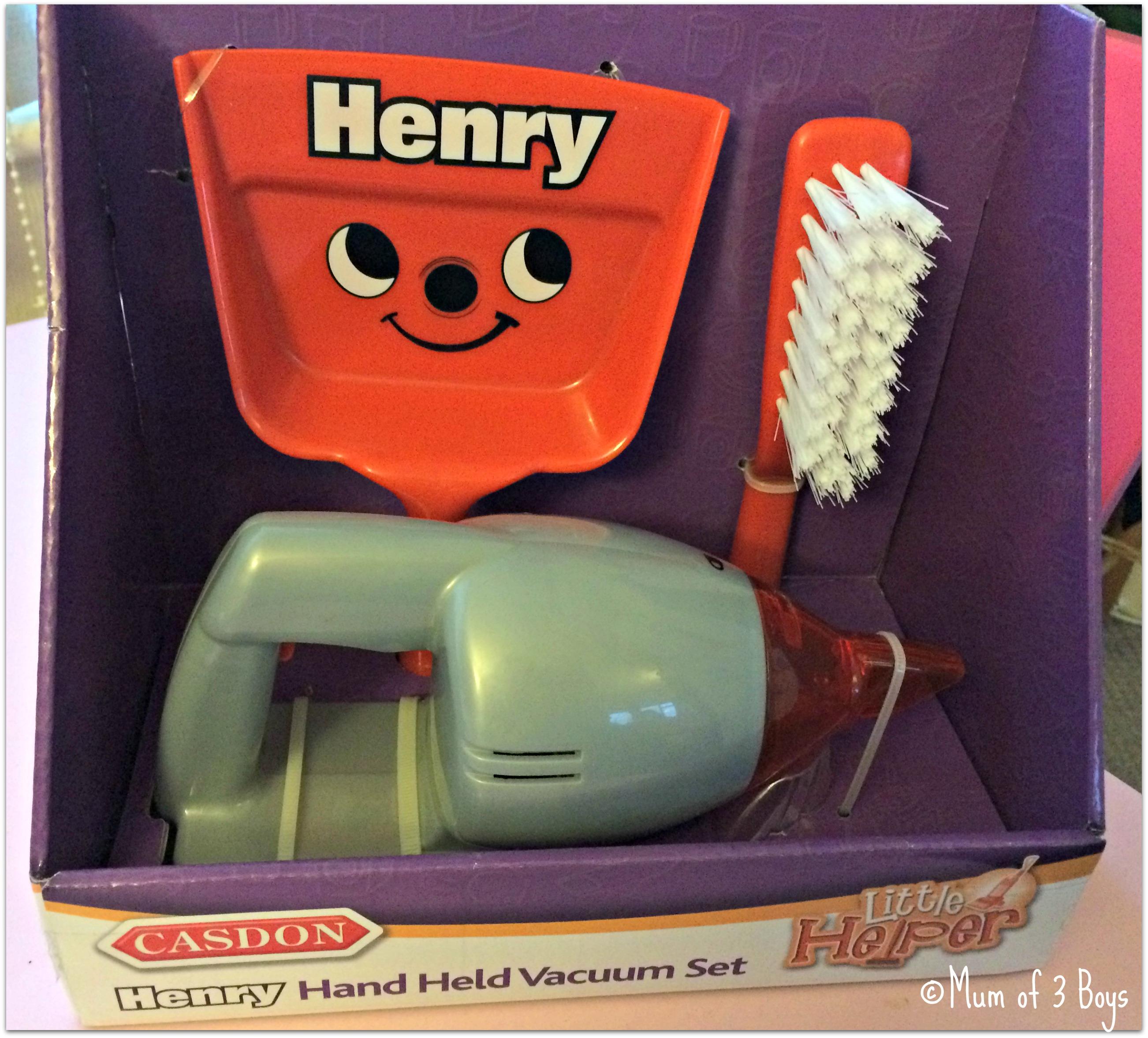 henry hoover box