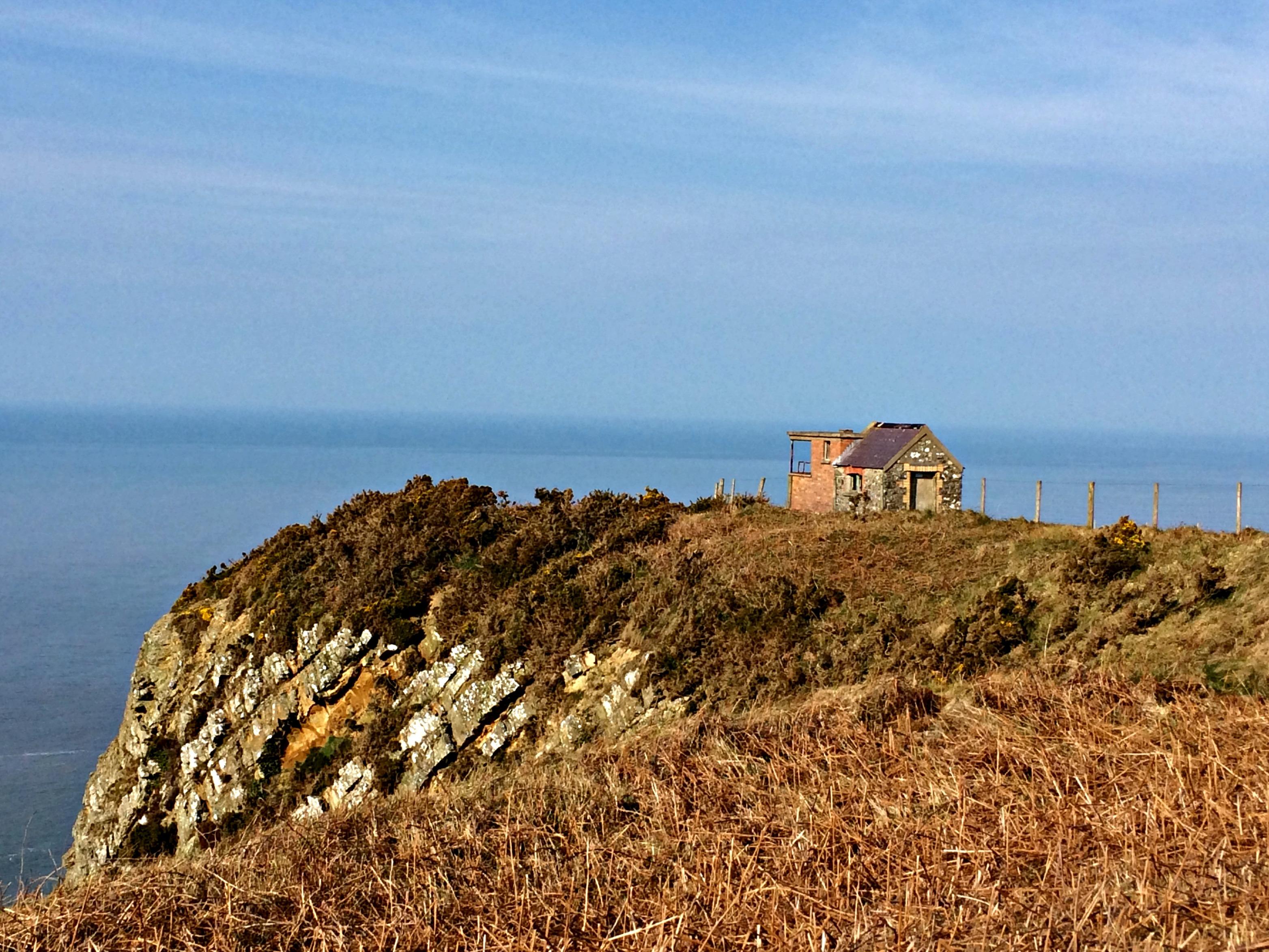 Old Coastguard lookout hut