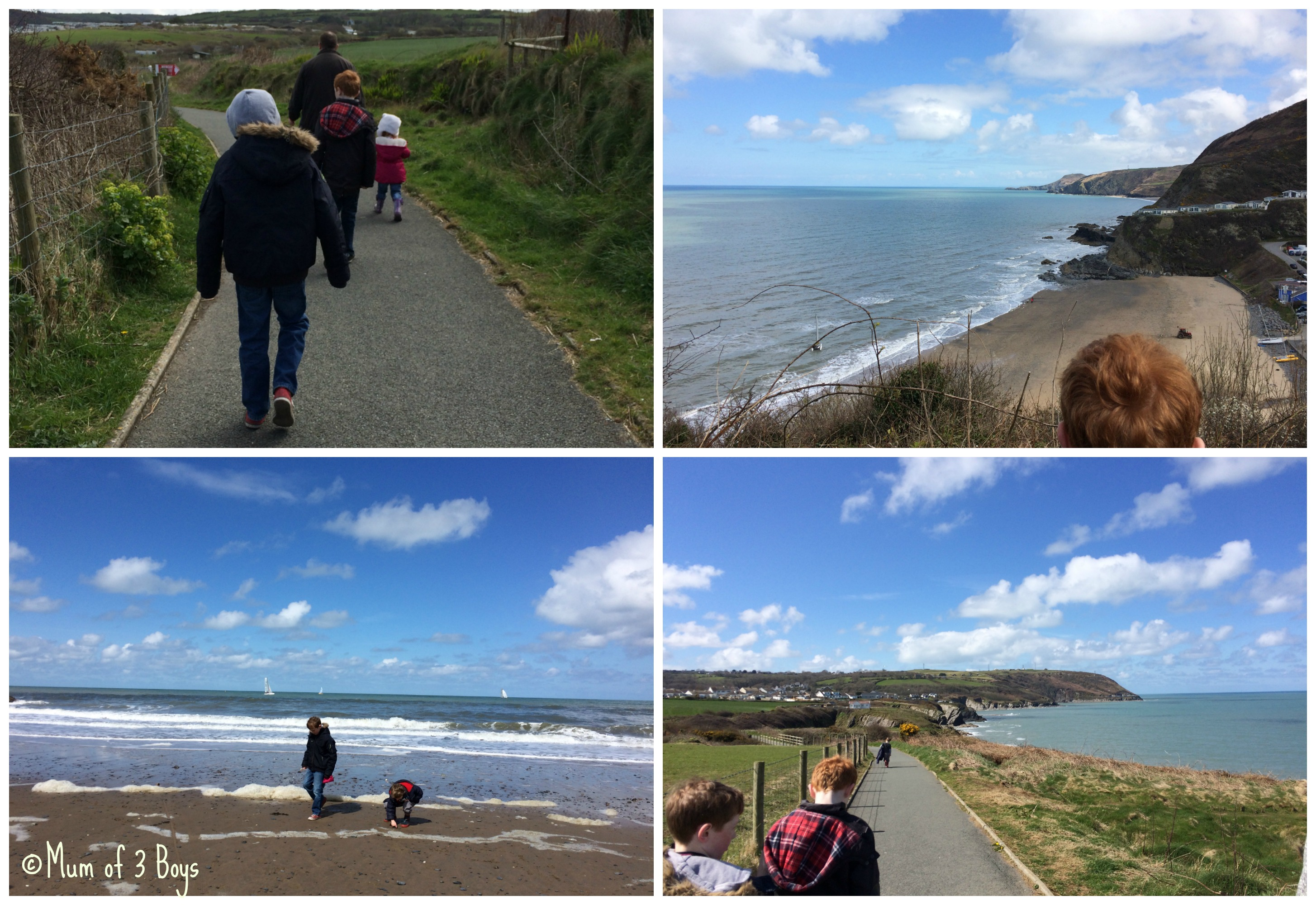 aberporth to tresaith