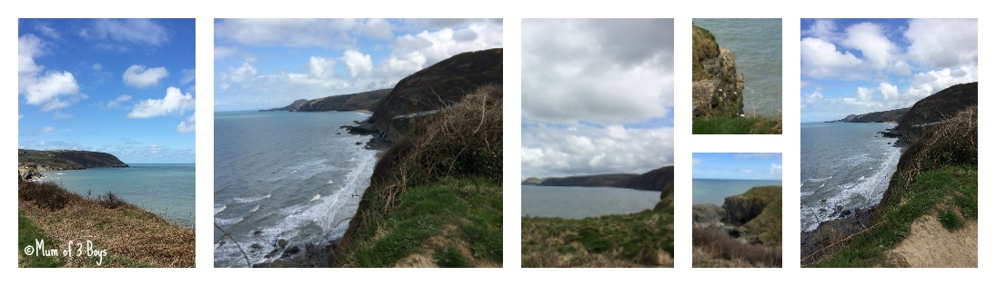coastal path aberporth to tresaith