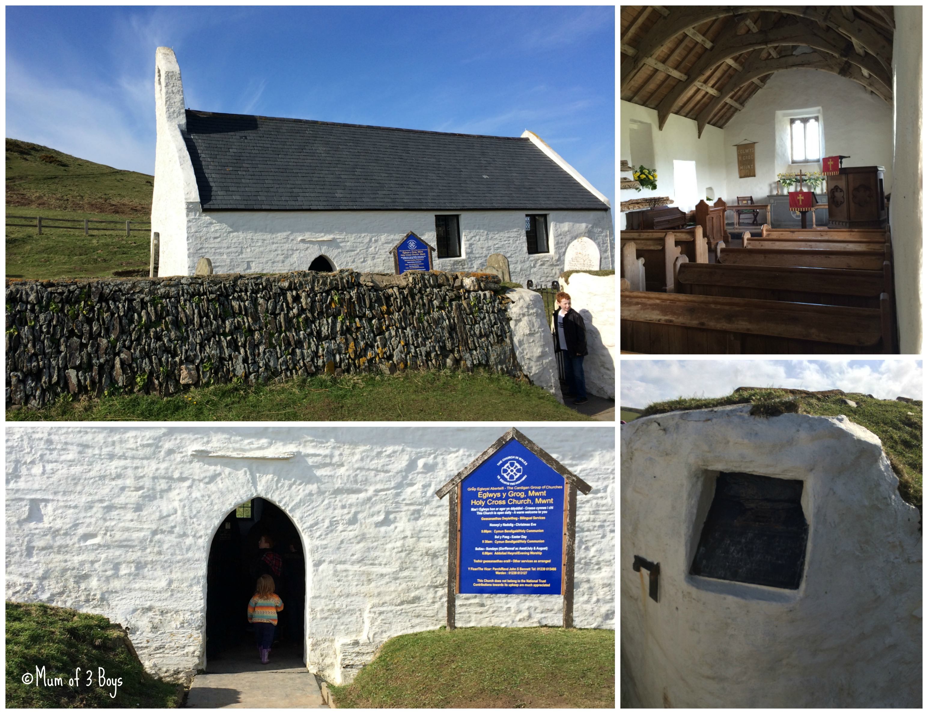 holy cross mwnt