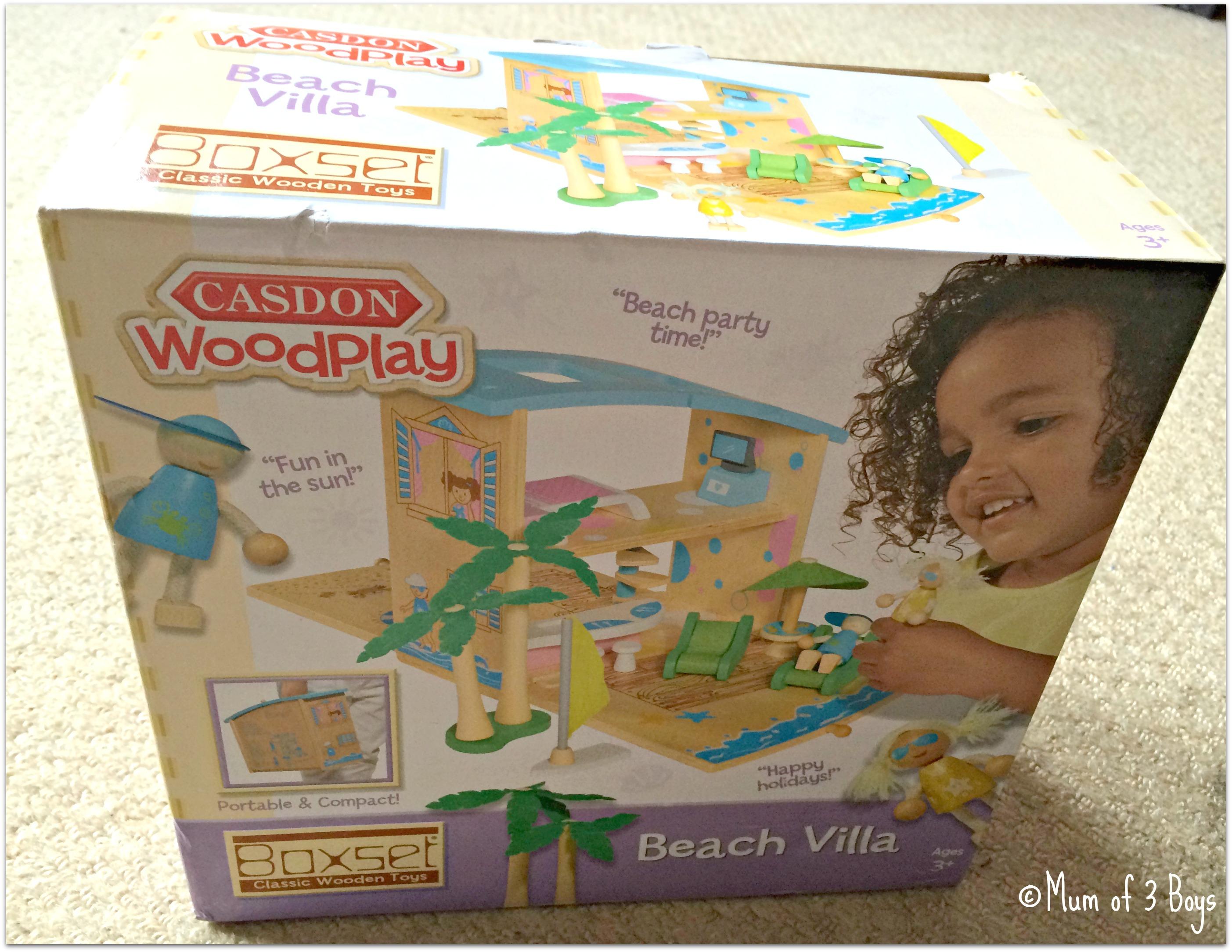 beach villa box