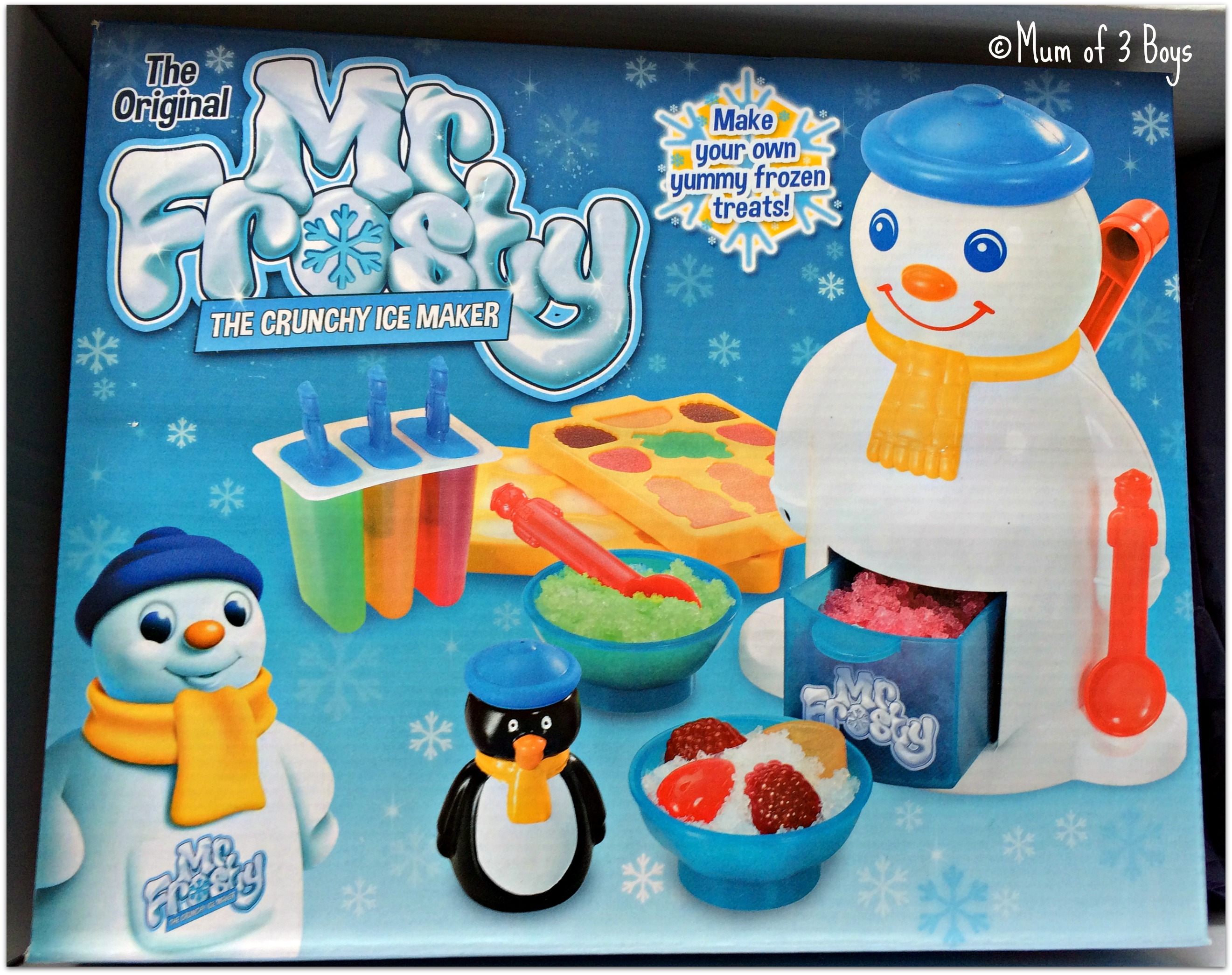 mr frosty box