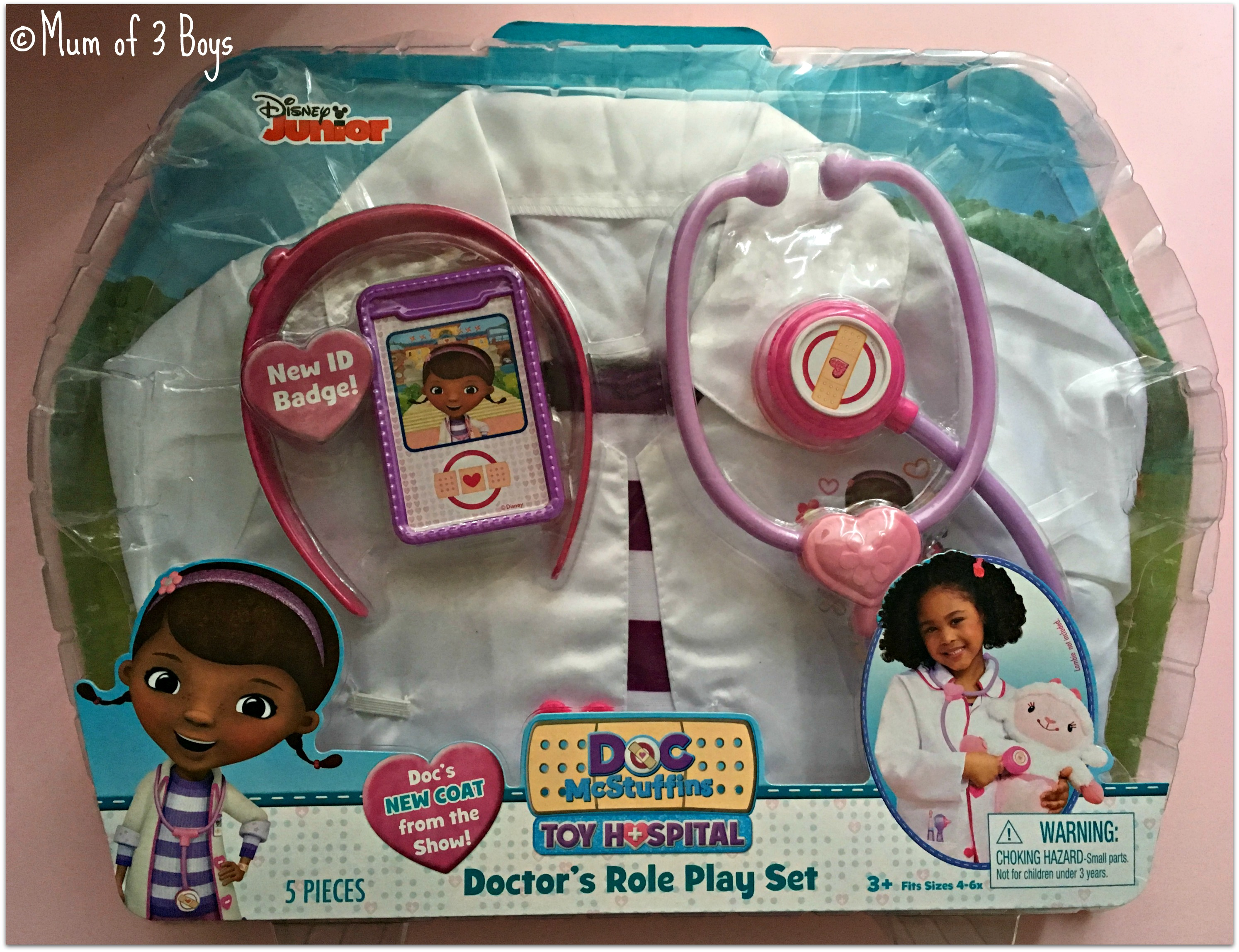 doctors role play set box